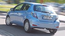 Toyota Yaris Hybrid, Heckansicht