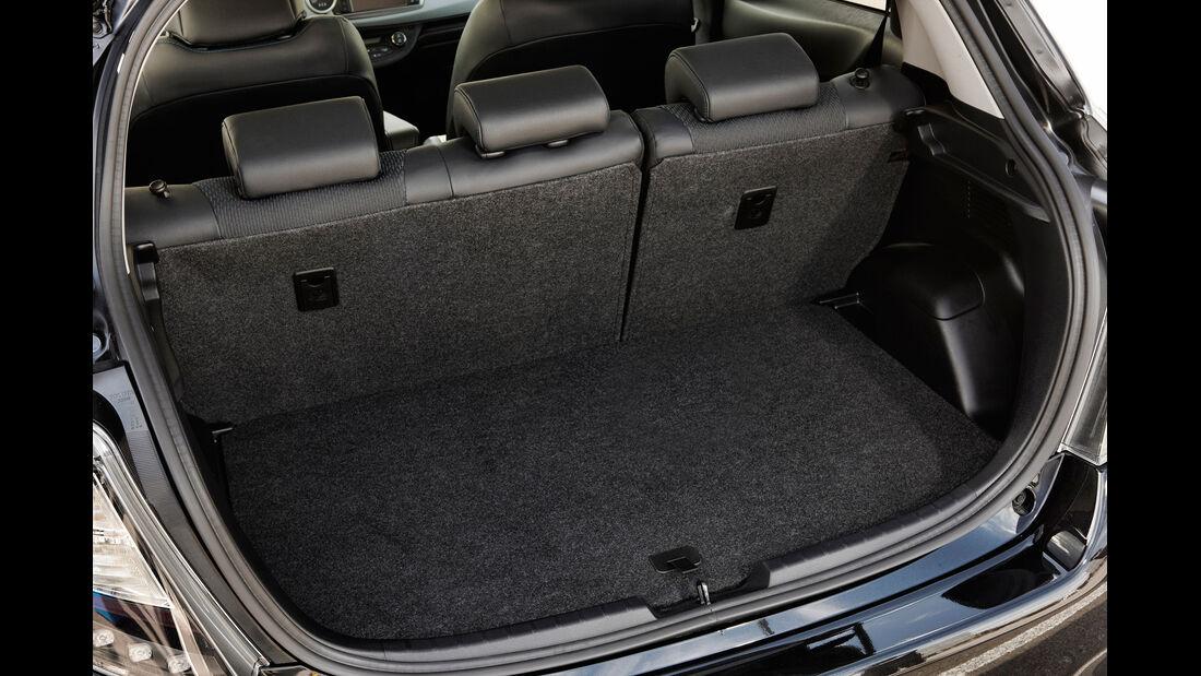 Toyota Yaris Hybrid, Kofferraum