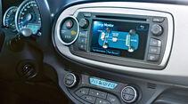 Toyota Yaris Hybrid, Monitor, Bildschirm