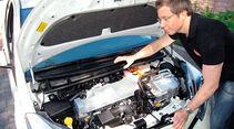 Toyota Yaris Hybrid, Motor