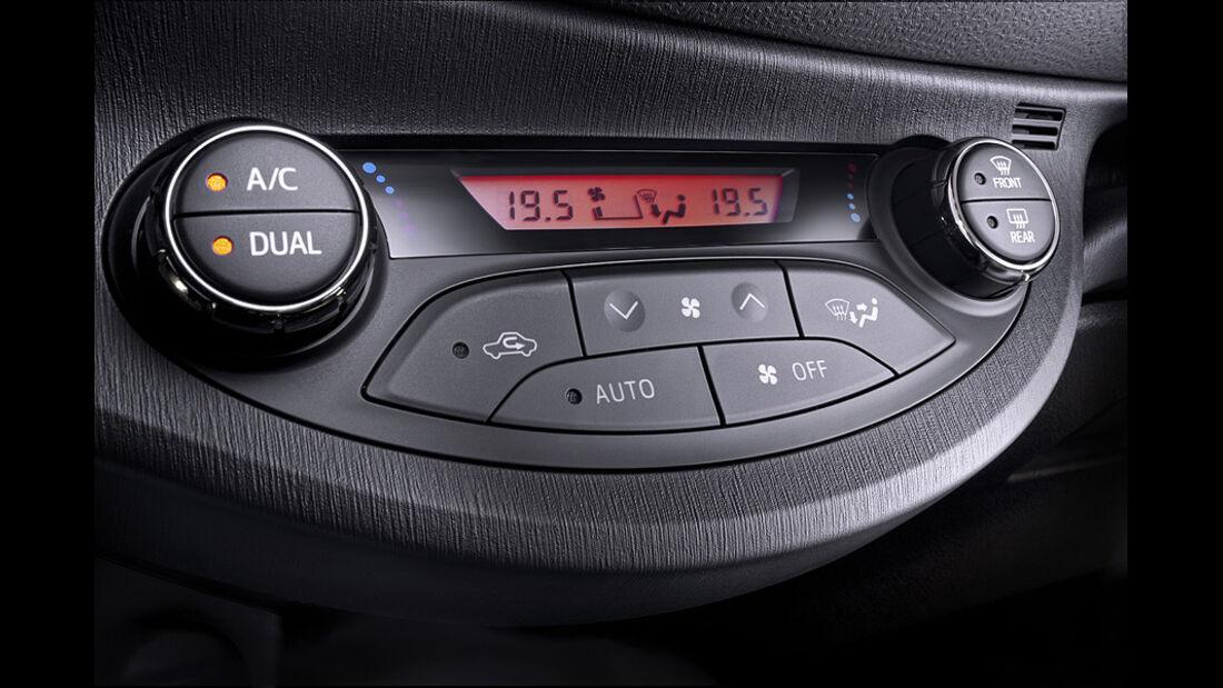 Toyota Yaris, Klimaanlage