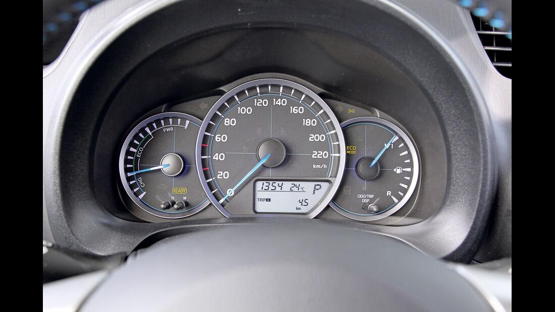 Toyota Yaris, Rundelemente