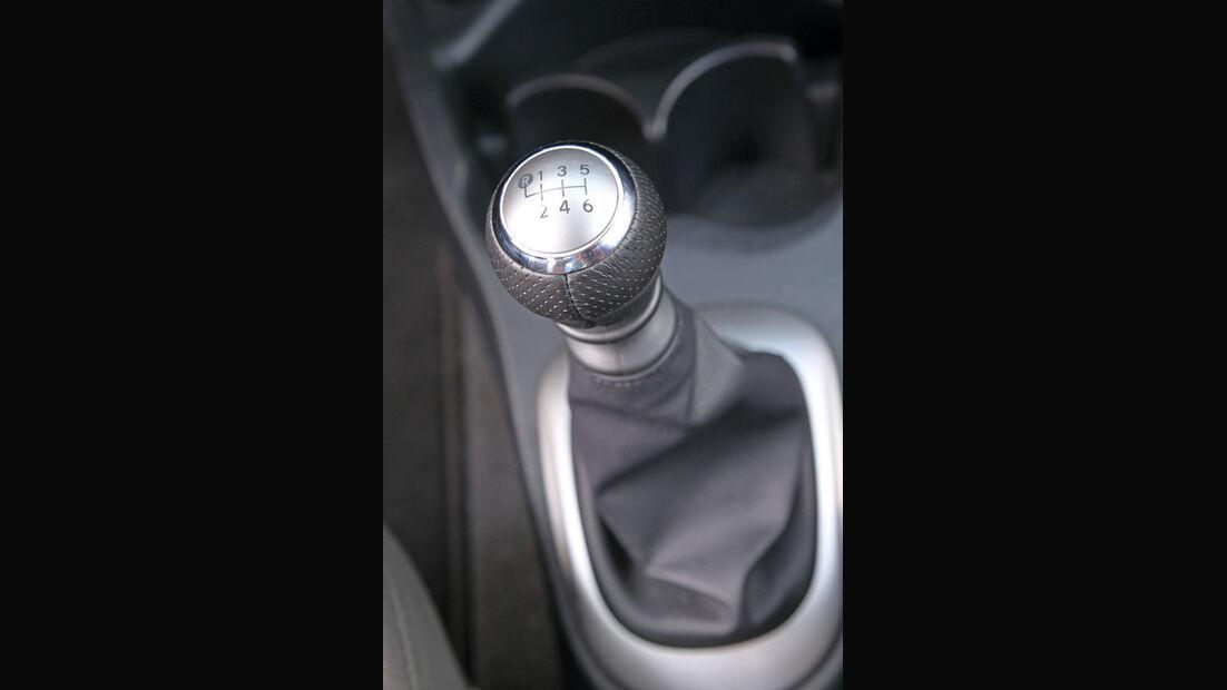 Toyota Yaris, Schalthebel, Schaltknauf