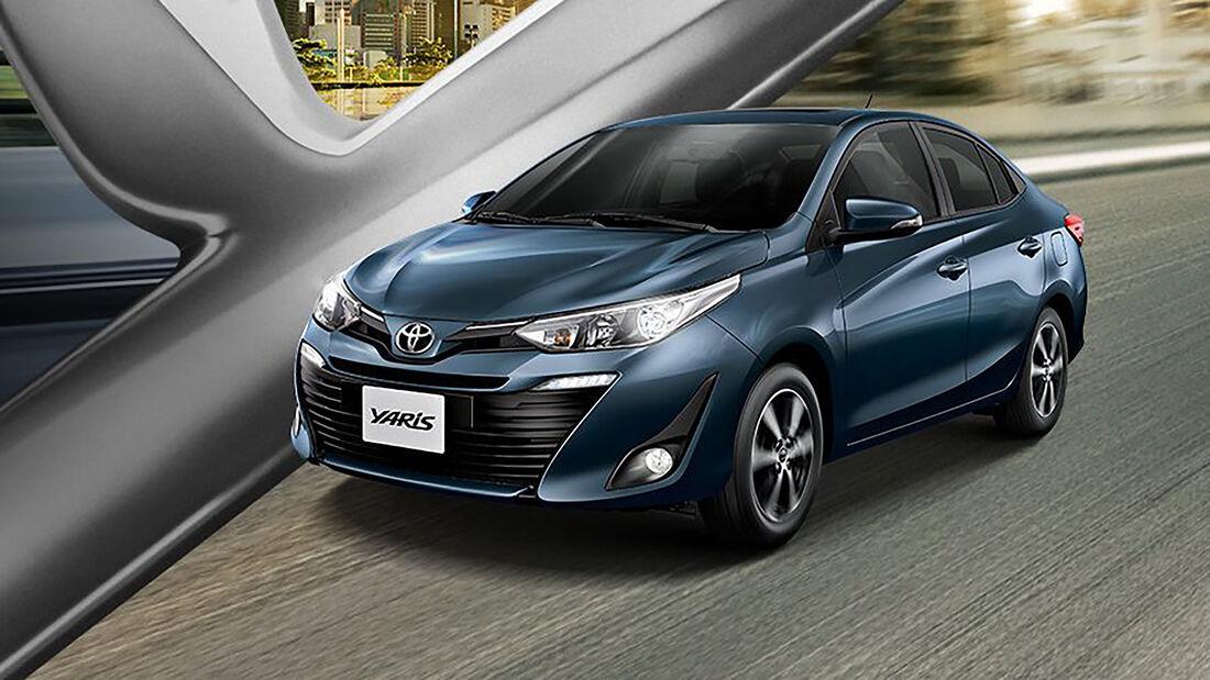 Toyota Yaris Sedan Brasilien