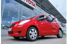 Toyota Yaris, Seitenansicht