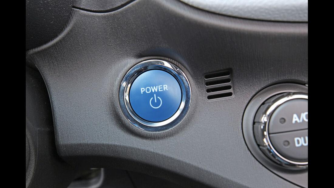 Toyota Yaris, Start-Stopp, Bedienelement
