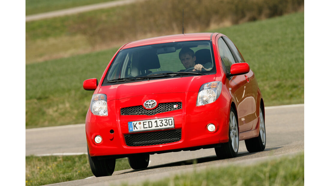 Toyota Yaris TS, Frontansicht