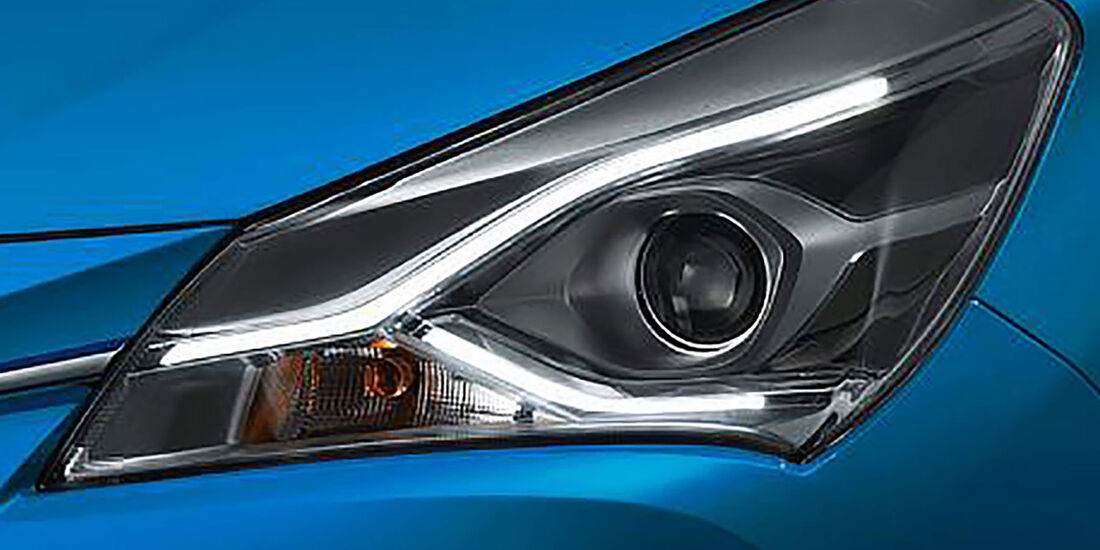 Toyota Yaris/Vitz Facelift Japan