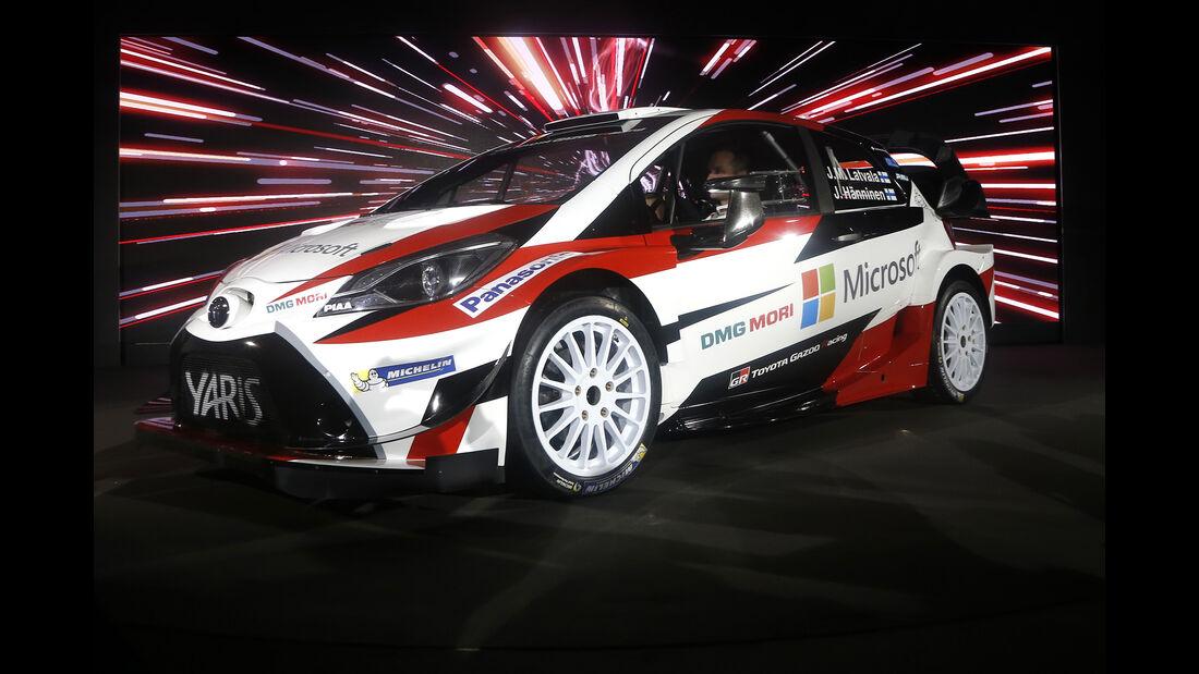 Toyota Yaris WRC - Team-Präsentation 2017