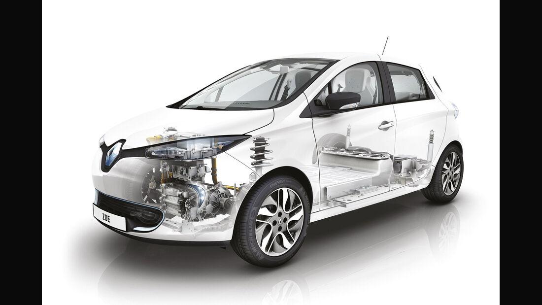 Toyota iQ EV, Frontansicht