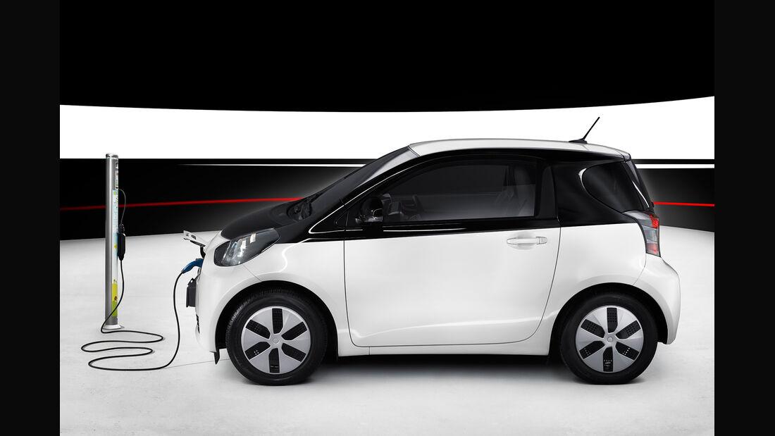 Toyota iQ EV, Seitenansicht