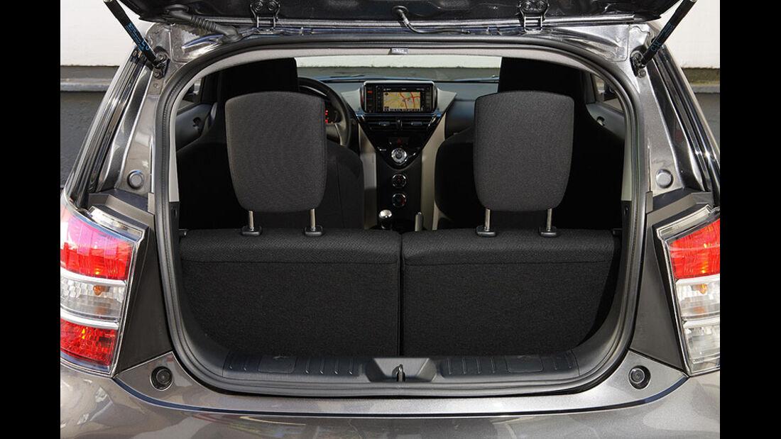 Toyota iQ Kofferraum