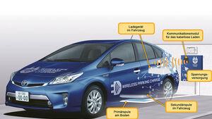 Toyota kabelloses Laden, Ladetechnik