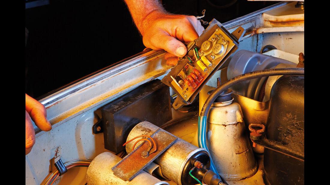 Trabant 601, Batteriezündung
