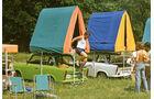 Trabant 601, Dachzelt,. Camping