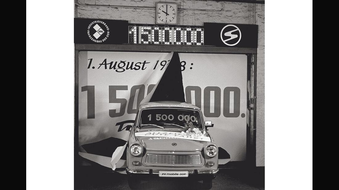 Trabant 601, Jubiläum