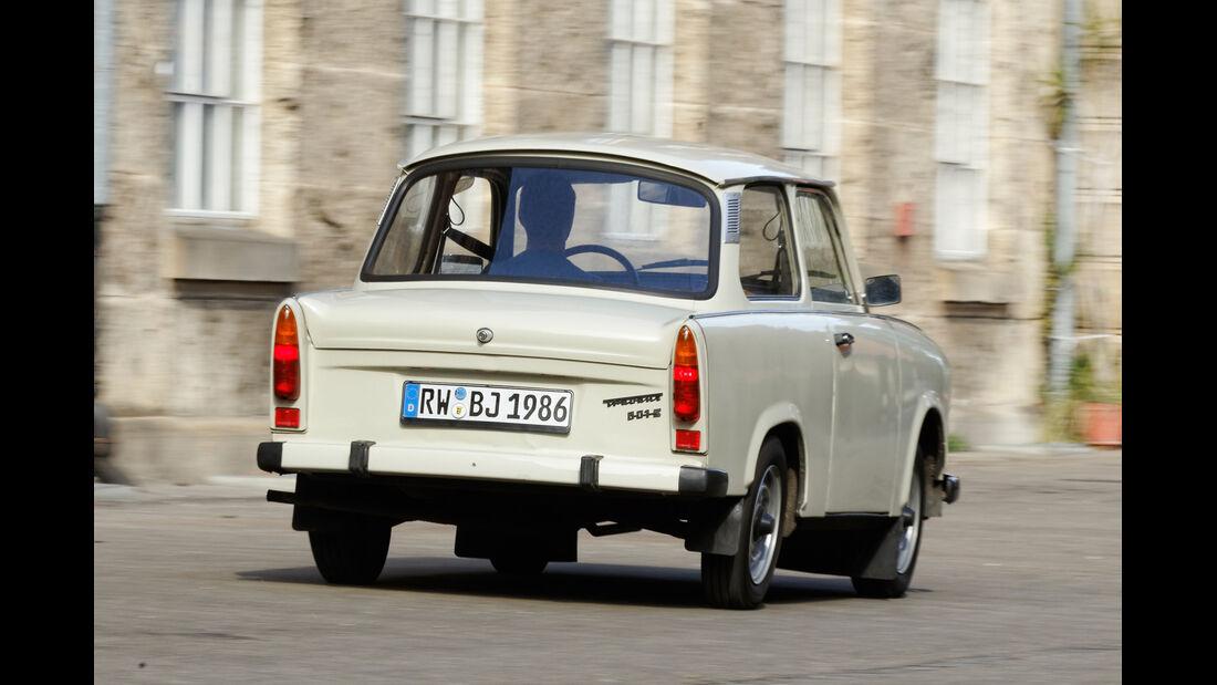Trabant 601 L, Heckansicht