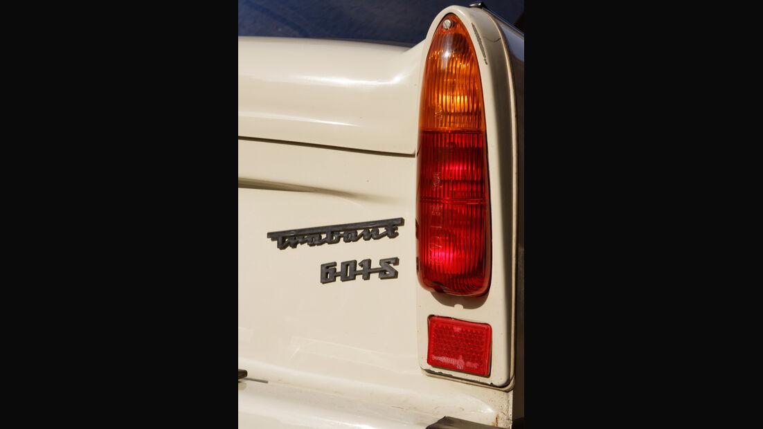 Trabant 601 L, Typenbezeichnung, Heckleuchte