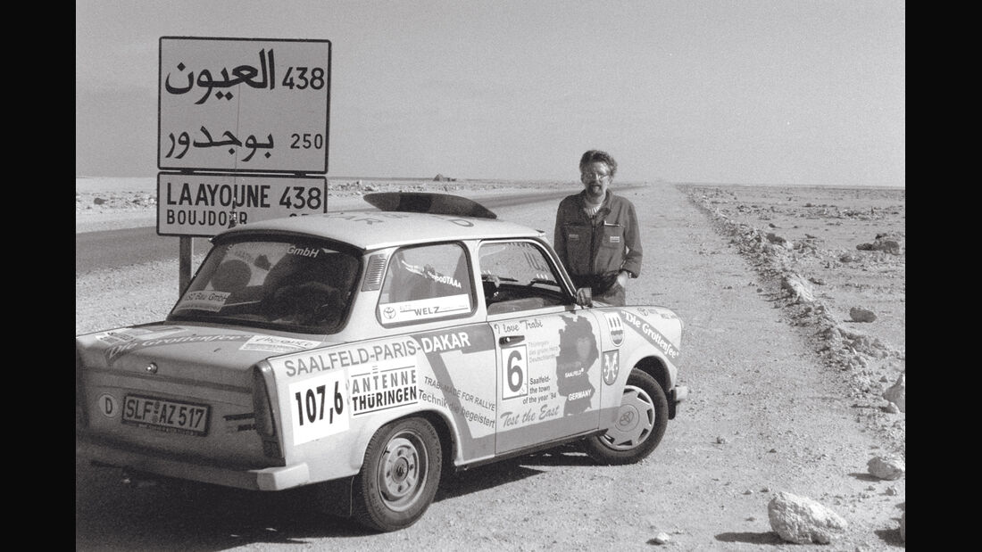 Trabant 601, Wüste, Rallye