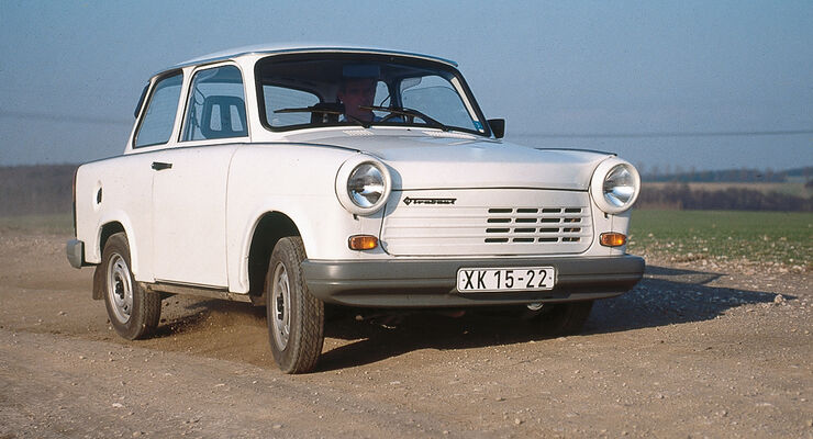 Trabant P 601, Frontansicht