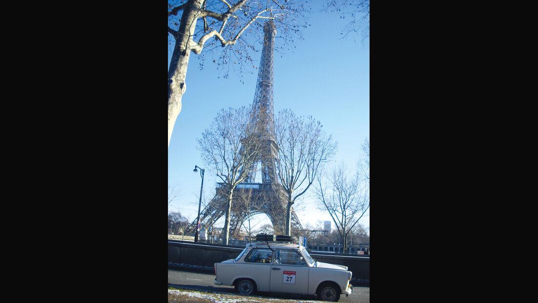 Trabant P 601 L, Paris, Eiffelturm
