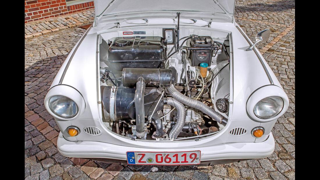 Trabant P, Motor