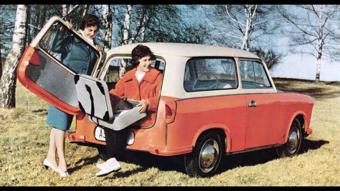 Trabant P50 Schnittzeichnung