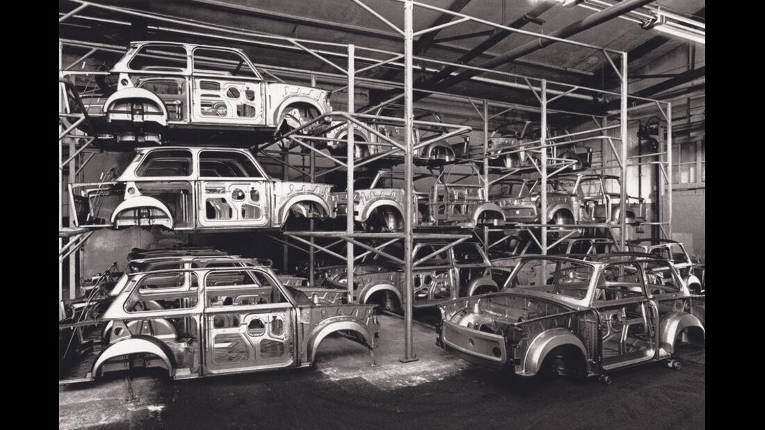 Trabant, Werkstätte, Chassis