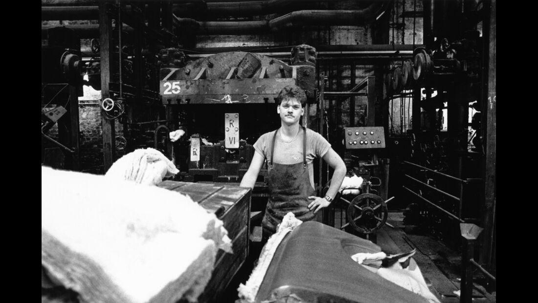 Trabant, Werkstätte, Mitarbeiter