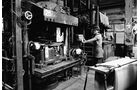 Trabant, Werkstätte, Presse