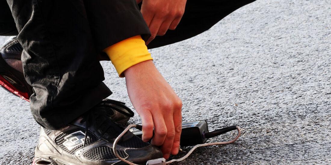 Track Temperatur Check, Formel 1-Test, Barcelona, 28. Februar 2013