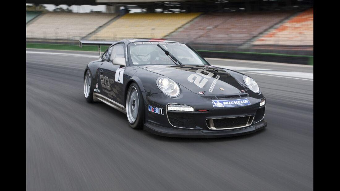 Tracktest Porsche 911 GT3 Cup