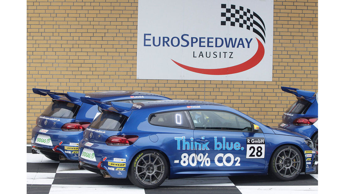 Tracktest VW Scrirocco Cup