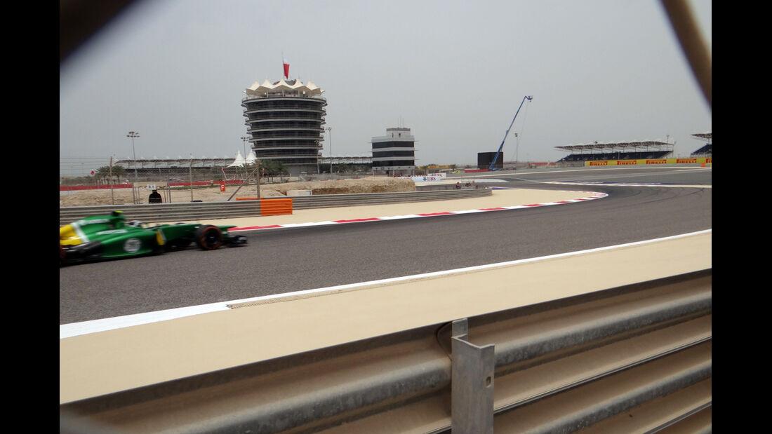 Trackwalk - Formel 1 - GP Bahrain - 20. April 2013