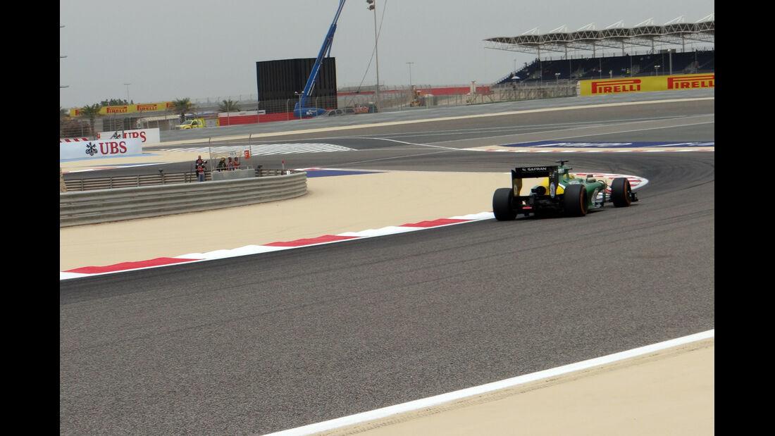 Trackwalk - Formel 1 - GP Bahrain - 20. April 2014