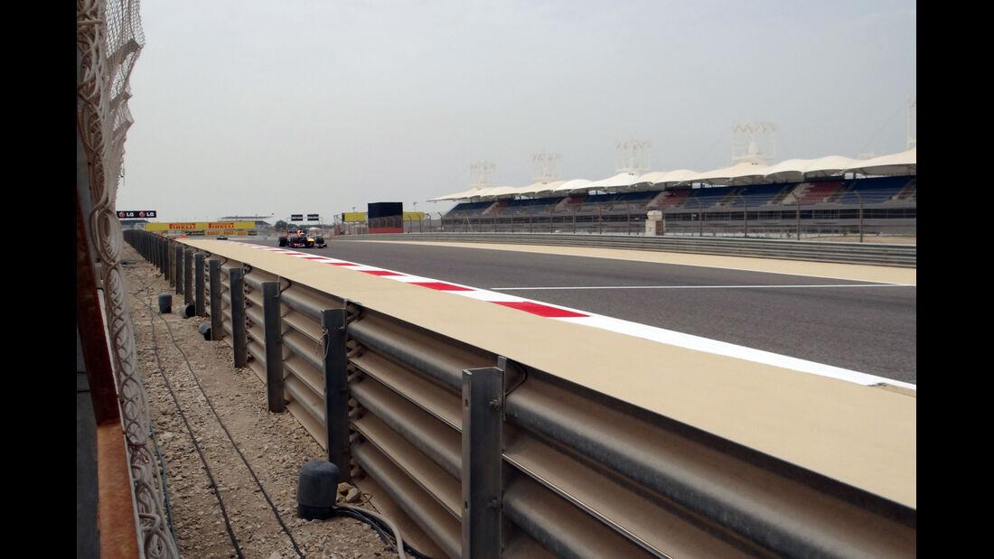 Trackwalk - Formel 1 - GP Bahrain - 20. April 2015