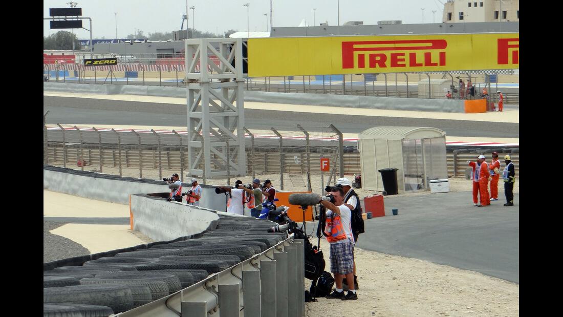 Trackwalk - Formel 1 - GP Bahrain - 20. April 2020