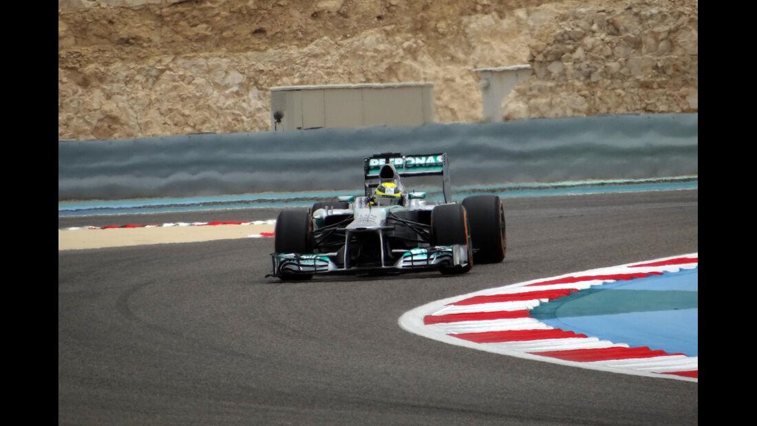 Trackwalk - Formel 1 - GP Bahrain - 20. April 2024