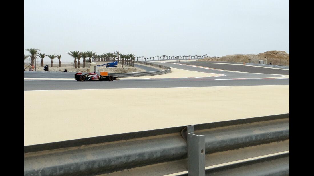Trackwalk - Formel 1 - GP Bahrain - 20. April 2029