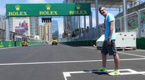 Trackwalk - GP Aserbaidschan - Baku - 15. Juni 2016
