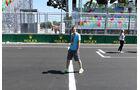 Trackwalk - GP Aserbaidschan - Baku - 15. Juni 2016