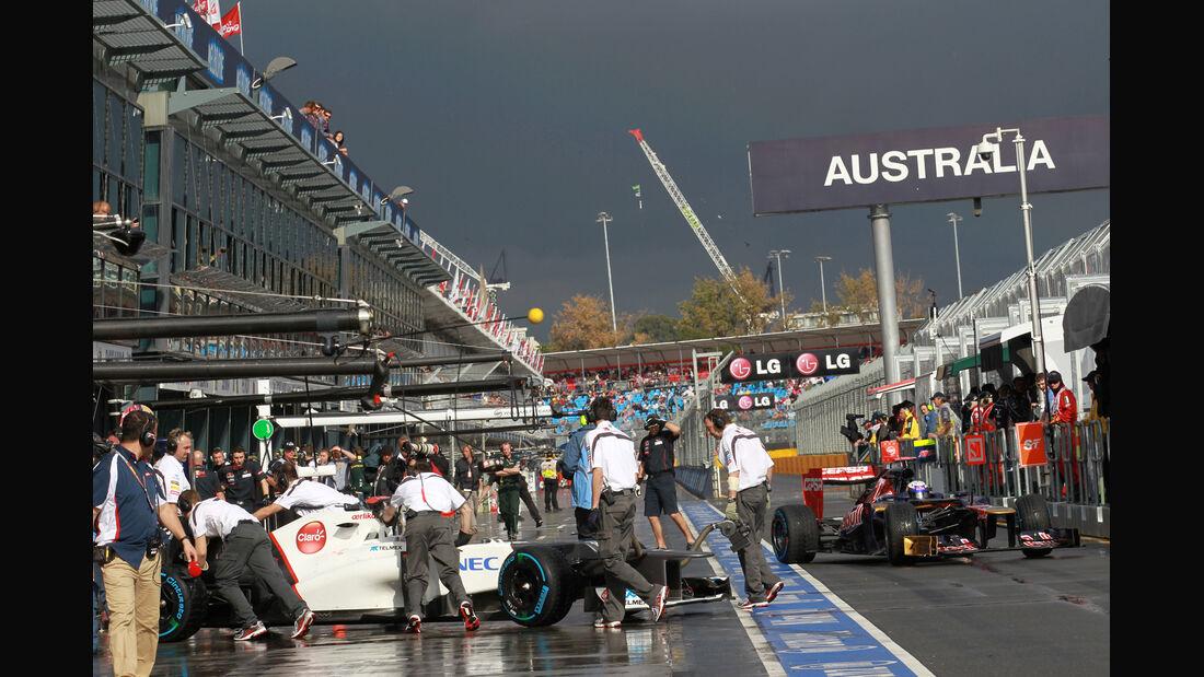 Training - GP Australien - Melbourne - 16. März 2012