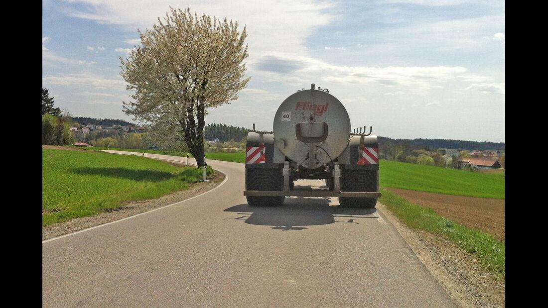 Traktor, Ackerschlepper, Güllefass