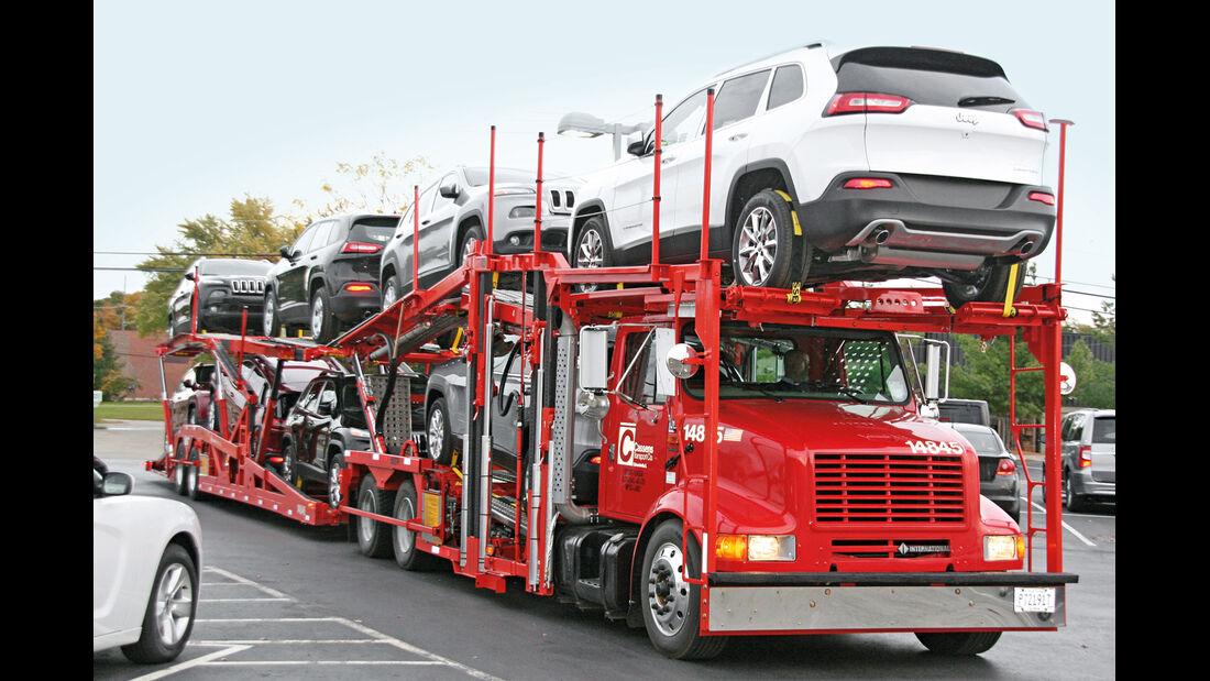 Transporter, Autotransport