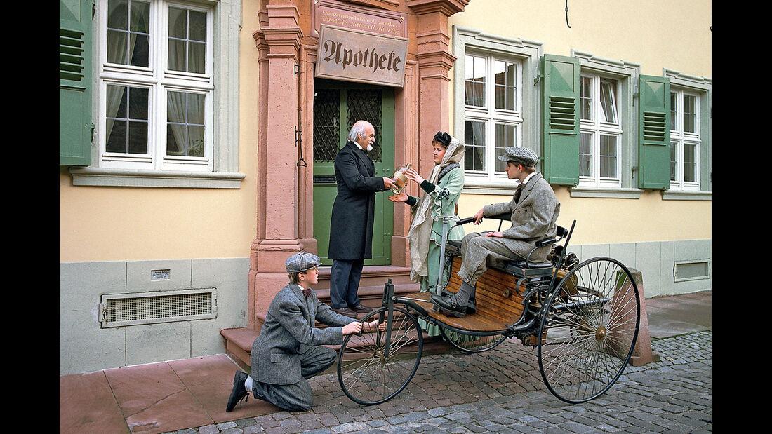 Traumrouten, Bertha Benz, Historie