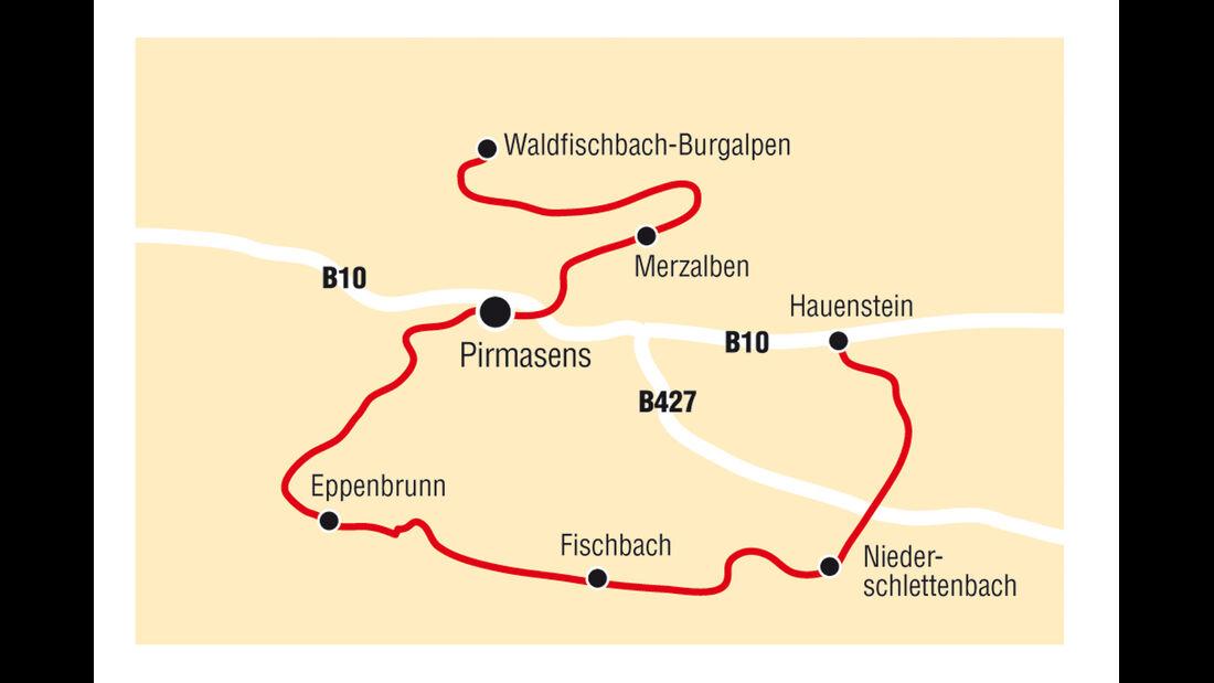 Traumrouten, Route Hauenstein