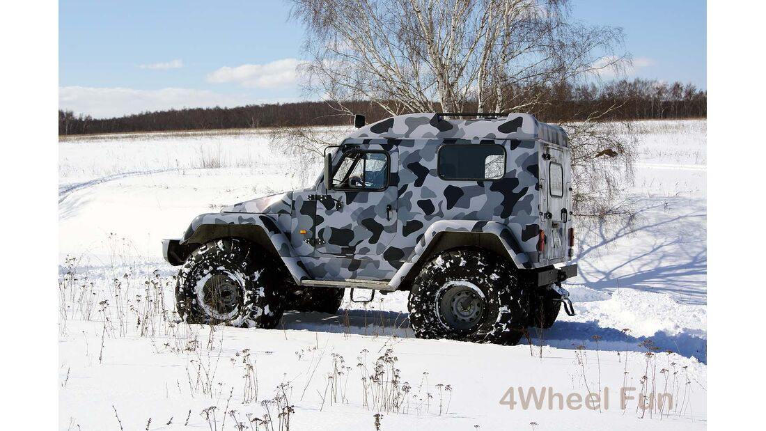 Trekol 39295 6x6 und weitere Trekol-Modelle