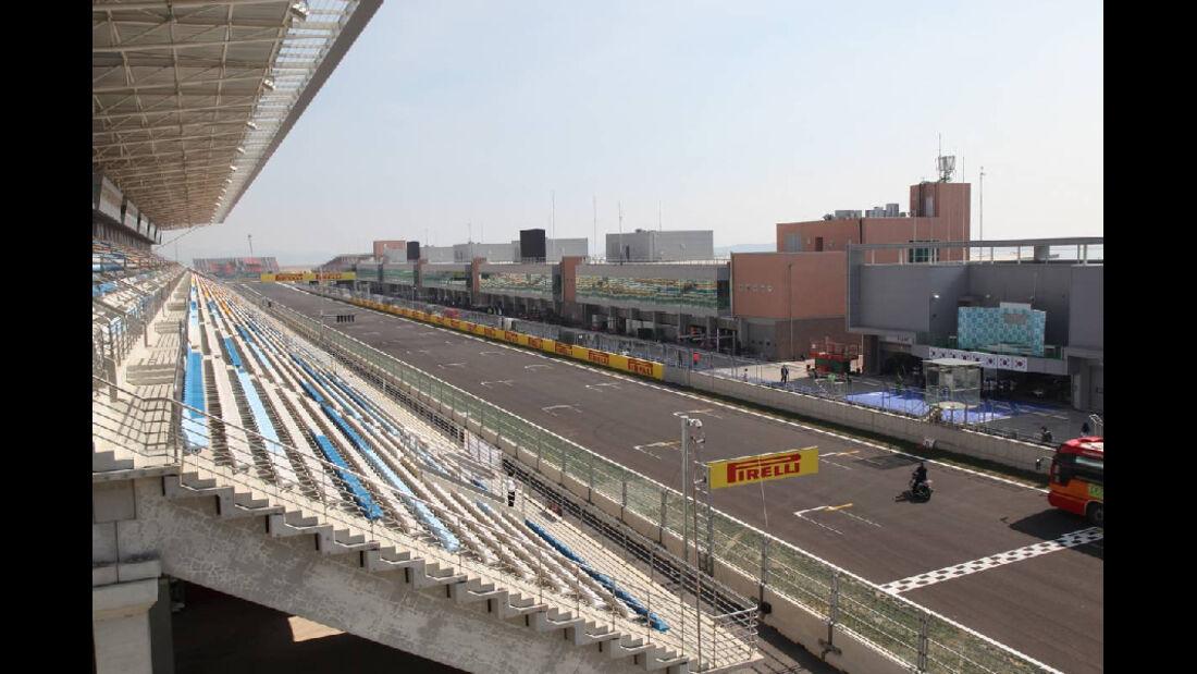 Tribüne - Formel 1 - GP Korea - 13. Oktober 2011