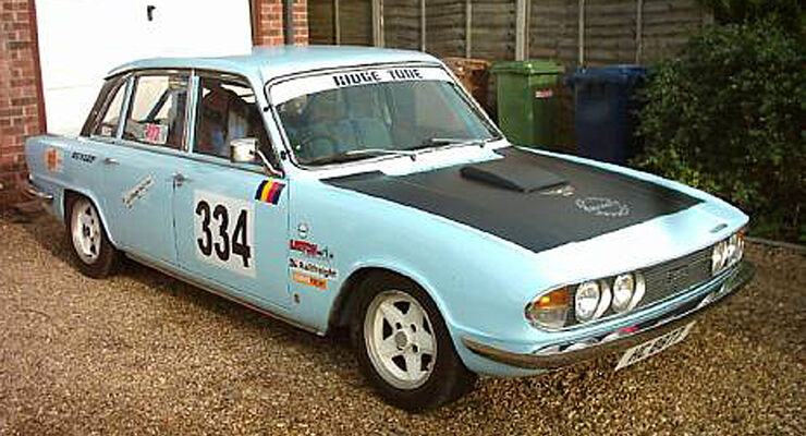 Triumph 2.5PI Competition Saloon