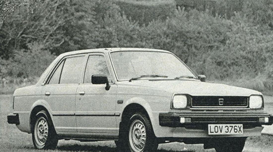 Triumph, Acclaim, IAA 1981